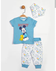 Mickey Mouse Baby Boys 3 Pack Set