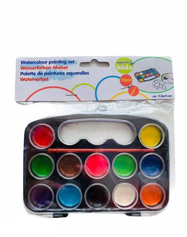 Water Color Painting Set - 12CT