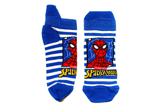 Spiderman Boys Socks - Blue