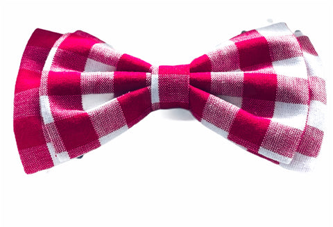 Idil Plaid Bow Tie