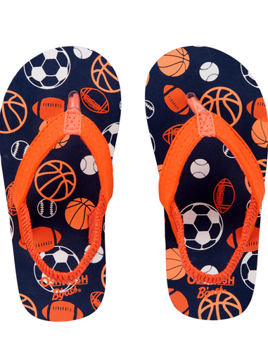 Oshkosh Sports Flip Flops
