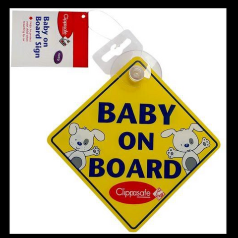 Clippasafe Baby on Board