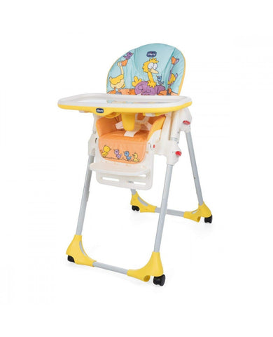 Chicco Polly High Chair - Birdland