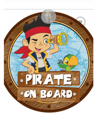 Pirate ' Baby on Board""