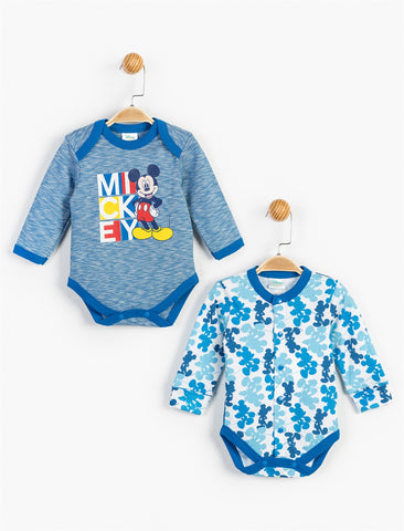 Mickey Mouse Bodysuit 2 Pack - 13317