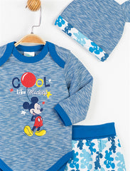 Mickey Mouse Baby Boys 3 Pack set - 13325