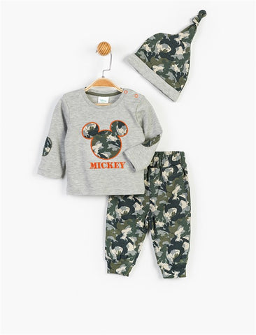 Mickey Mouse T-Shirt, Hat & Sweatpants - 13365