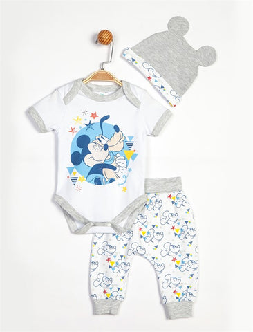 Mickey Mouse Baby Boys 3 Pack set - 13897