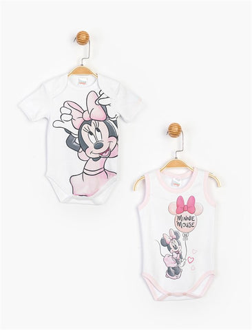 Minnie Mouse Bodysuits for Baby  - 15477