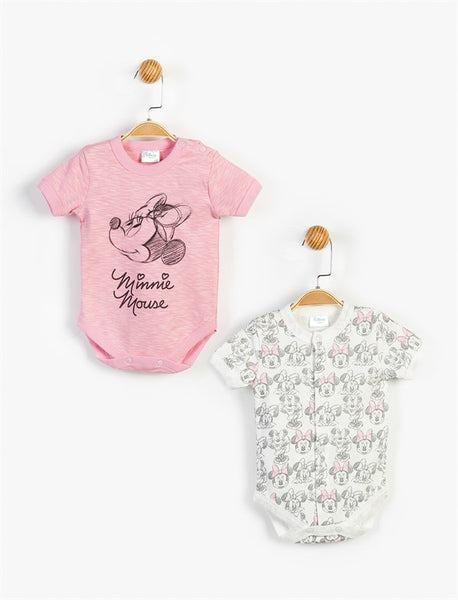 Minnie Mouse Bodysuits 2 Pack - 13420