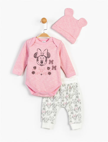 Minnie Mouse Baby Girls 3 Pack set - 13489