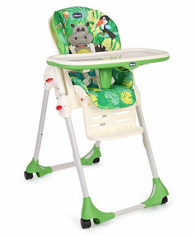 Chicco Polly High Chair - Happy Jungle