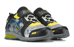 Batman Light Up Sneakers - Black/Yellow