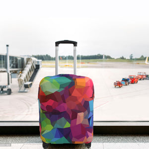 Never lose your bag with Explore Land luggage cover