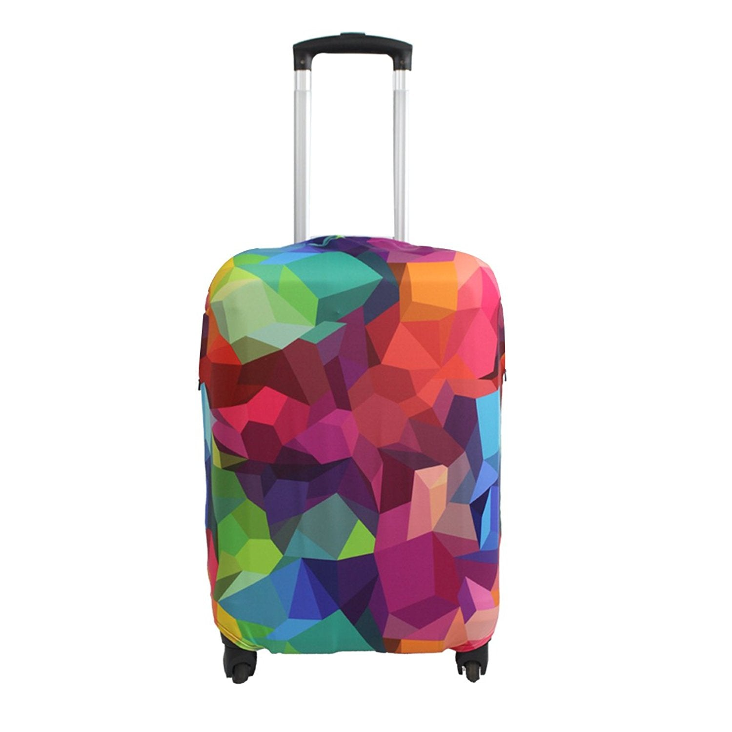Fire, S Elastic Travel Luggage Cover Travel Suitcase Protective Cover for Trunk Case Apply to 19-32 Suitcase Cover 18-22 inch luggage