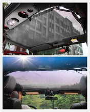 Explore Land Jeep Wrangler Mesh Sun Shade Top Cover for both 2-Door and 4-Door Jeep Wrangler 2007-2017