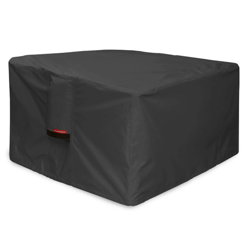 Porch Shield 100% Waterproof Heavy Duty Patio Square Fire Pit/Table Cover Black