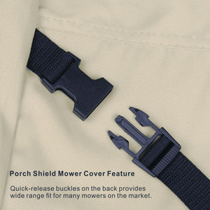 Porch Shield 100% Waterproof Oxford Walk Behind Lawn Mower Cover