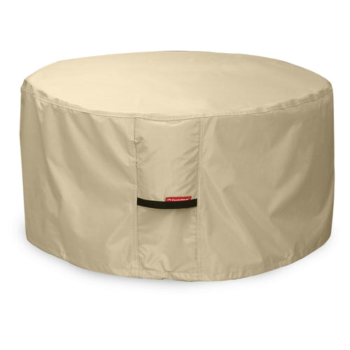 Porch Shield 100% Waterproof Heavy Duty Patio Round Fire Pit/Table Cover