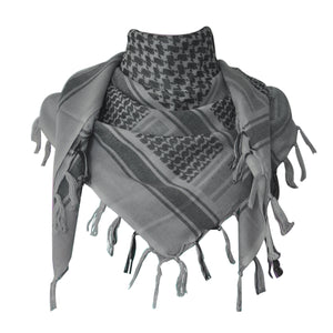 Explore Land 100% Cotton Shemagh Tactical Desert Scarf Wrap