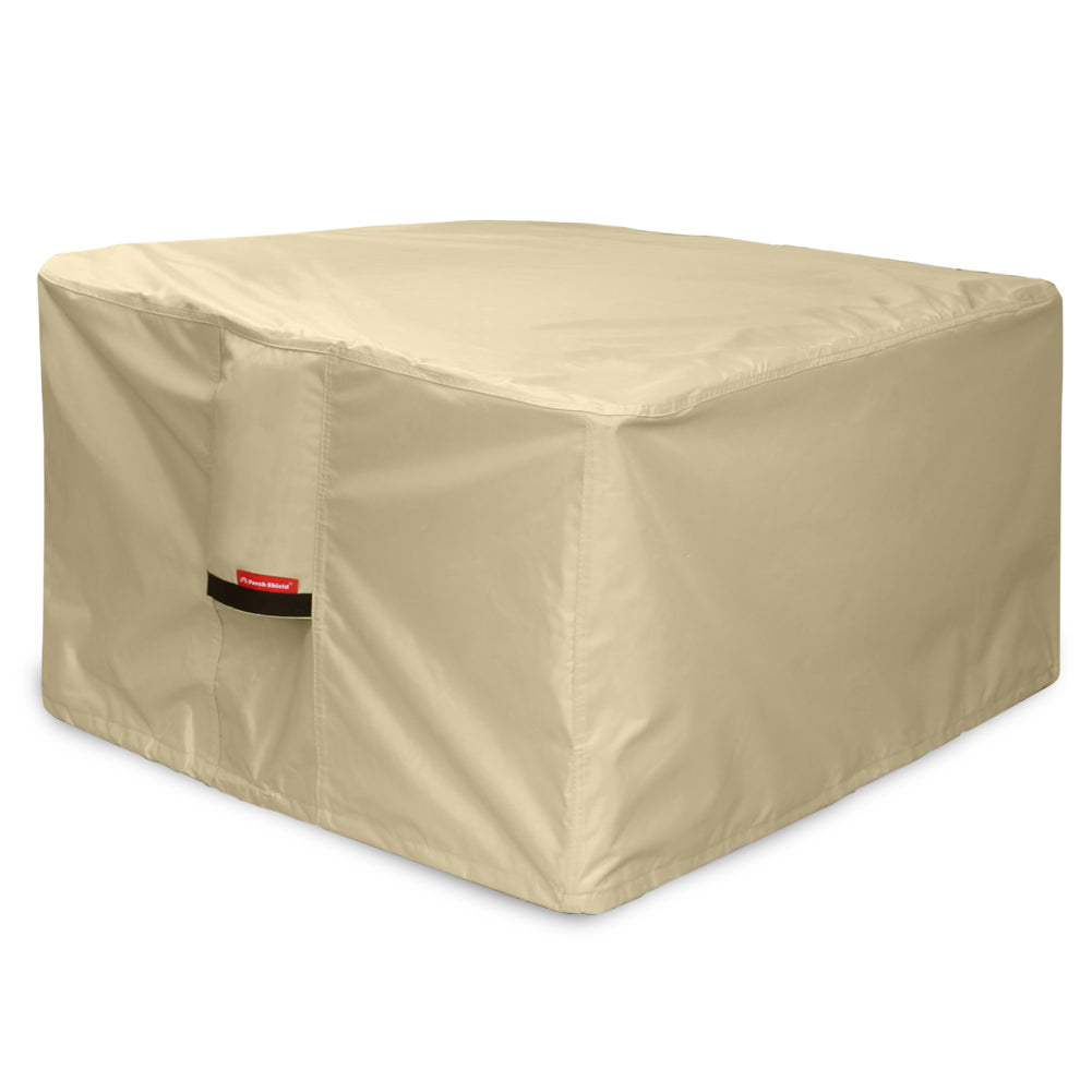 Porch Shield 100% Waterproof 600D Heavy Duty Patio Square Fire Pit/Table Cover