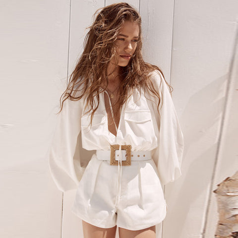 Image of Runway Style Full Sleeve Jumpsuit