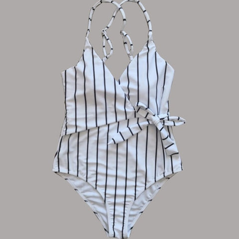 Image of Sexy Striped One Piece