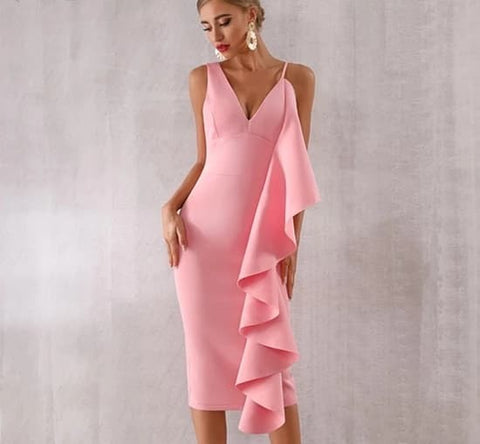 Image of Larissa - Celebrity Chic Evening Runway Party Dress