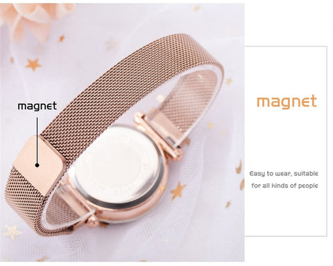 Sky At Night - Exquisite Starry Sky Magnetic Mesh Quartz Watch