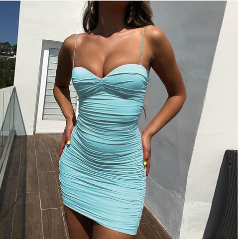 Boss Lady - Sexy Double Layered Backless Bodycon Dress