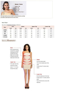 El Vogue - Runway Chic Celebrity Bandage Top