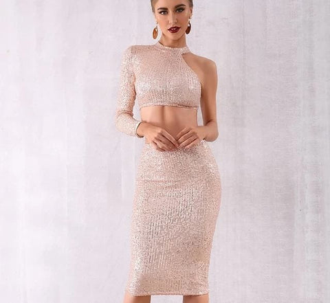 Celebrity Evening Party Dress/2 Piece