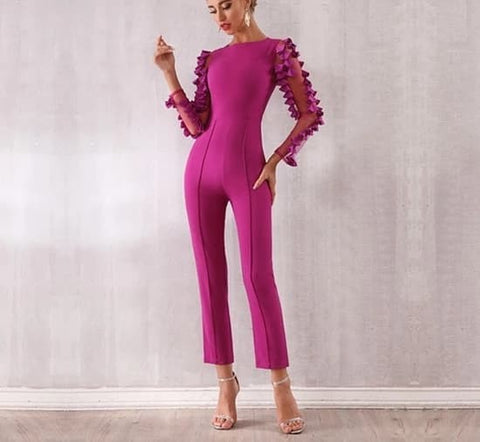 San Pedro - Runway Designed Luxury Jumpsuit