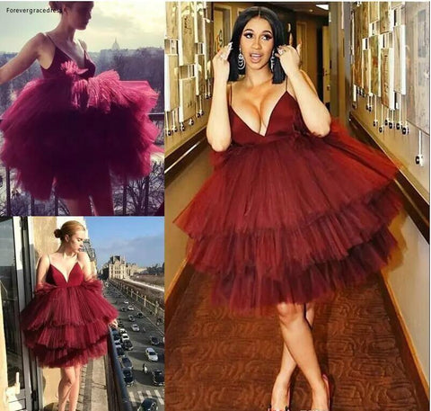 Paparazzi Range - Extravagant Puffed Out Celebrity Dress