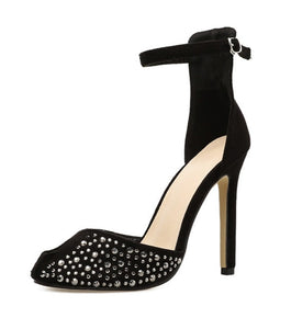 Haute Couture Range - Stunning Crystal Embellished Heels