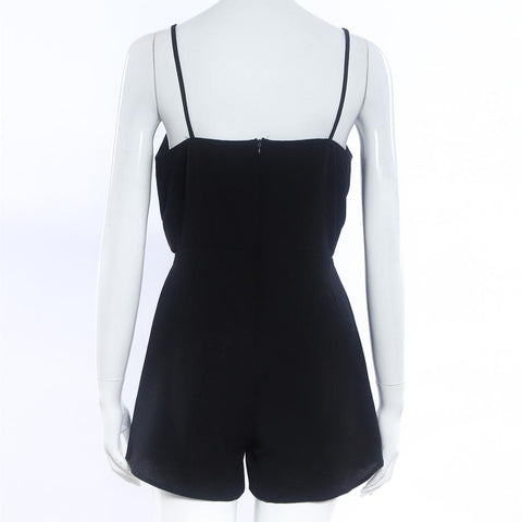 Image of Sleeveless  Black Elegant Jumpsuit