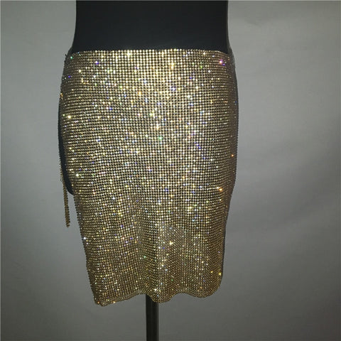 Image of Bring The Heat - Ultra Glam Sparkling Rhinestone 2 Piece Set