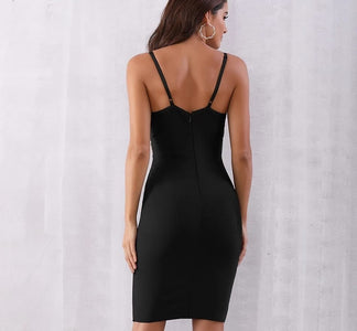 Centenario - Sexy Bodycon Sequin Spaghetti Strap Dress