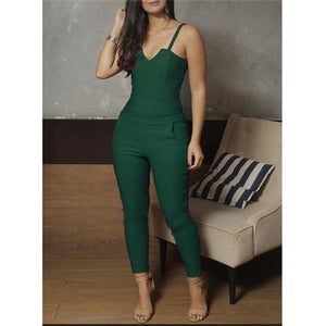 Slim Fit Spaghetti Strap Jumpsuit