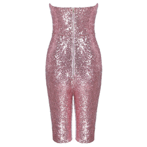 Say My Name - Dazzling Sparkling Sequined Jumpsuit