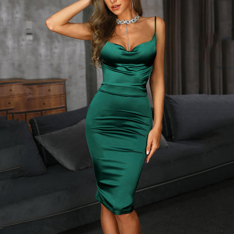 Image of Ultra Glam Figure Hugging Bodycon Dress