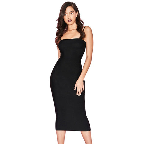 Image of Sexy Bodycon Midi Dress