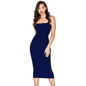 Sexy Bodycon Midi Dress