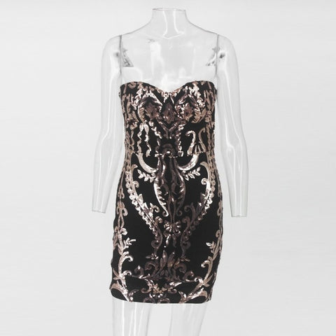 Stunning Bodycon Sparkling Sequin Dress