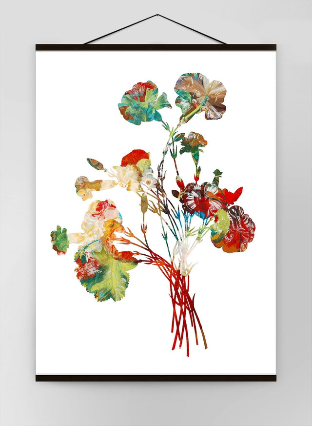 Colour Vintage Bouquet 1 Canvas