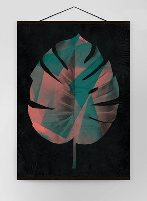 Oversized Tropical Leaf 1 Canvas