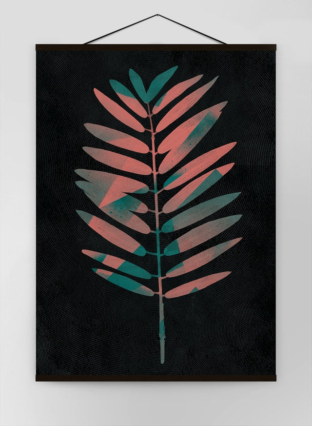 Oversized Tropical Leaf 2 Canvas