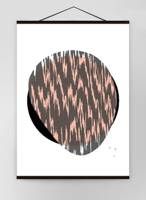 Pebble 1 Abstract Pattern Canvas