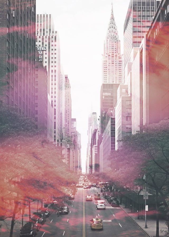 Nyc New York Avenue Photography Canvas