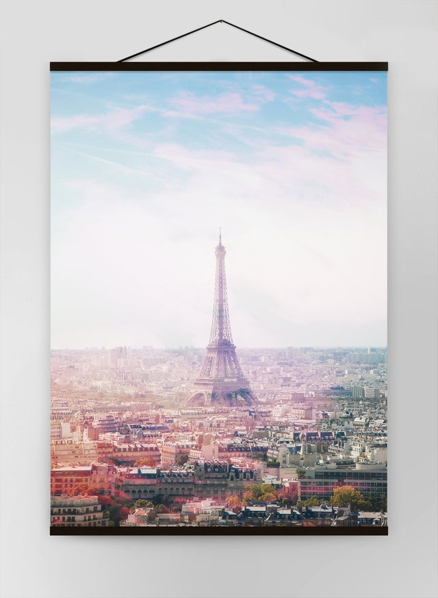 Paris Eiffel Tower City Photography Canvas